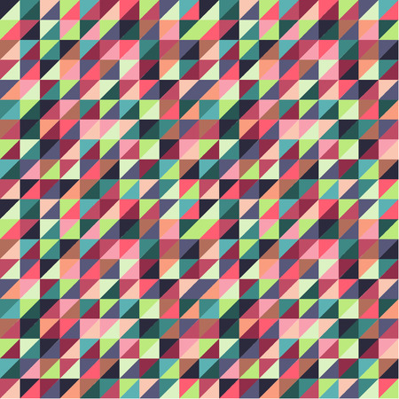Colorful Triangle Background Pattern Vector