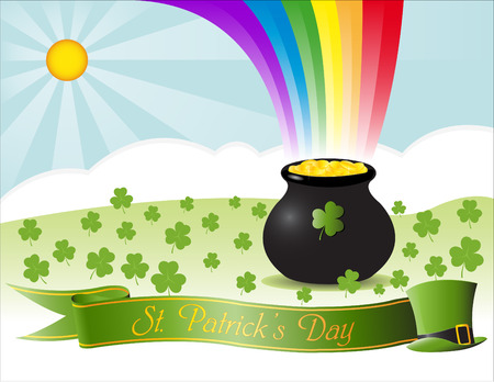 paddys: Vector of St. Patricks Day context Illustration