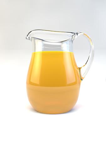 A Jug Full of Orange Juice