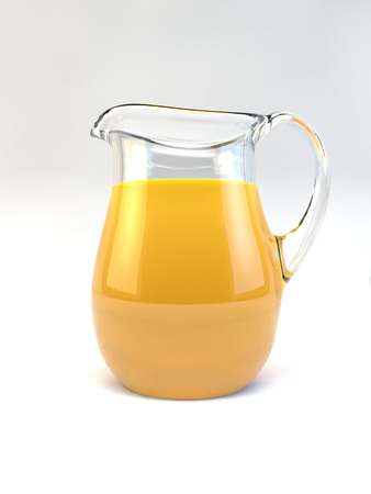 Een kruik vol Orange Juice