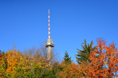 Different seasons around the tower