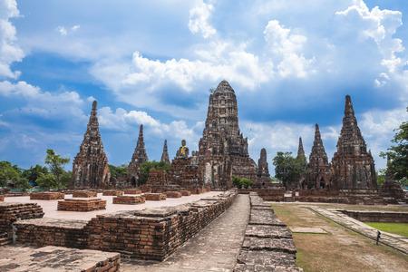 ayuthaya: One of the temples of Ayuthaya, Thailand  Stock Photo