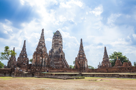 ayuthaya: One of the temples of Ayuthaya, Thailand  Editorial