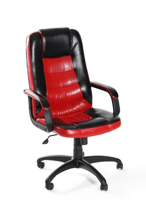 Leather office swivel chair Stock Photo - 11576203