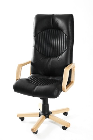 Leather office swivel chair Stock Photo - 11576199