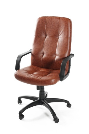 Leather office swivel chair Stock Photo - 11576197