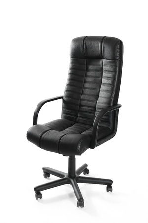 Leather office swivel chair Stock Photo - 11576196
