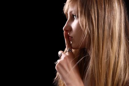 glamour blonde woman