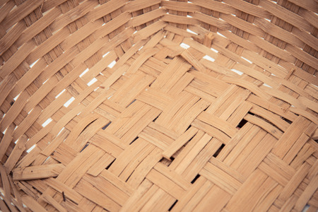 Surface of basketry photo