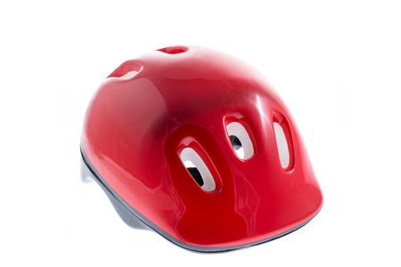 casco rojo: Casco rojo para el cabrito
