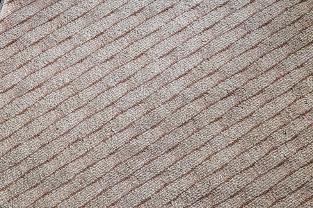 carpet and flooring: Repeating shape of wool as the carpet flooring Stock Photo