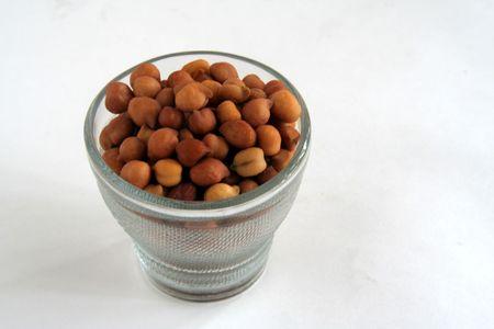 tremp�e: Soaked Bengal gram sourse de sant� et de nutrition Banque d'images