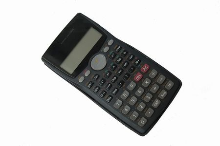 assess: Electronic calculator used by scientists, engineers, students and business for their calculating needs
