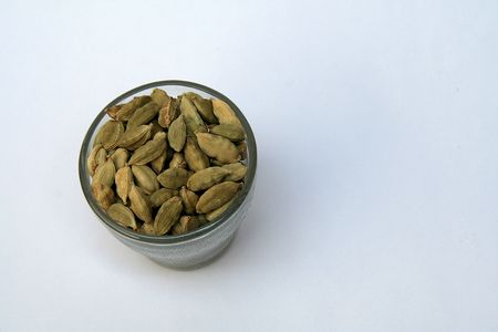 cardamum: Cardamom or Cardamum is aromatic Asian plant, Elettaria cardamomum, seeds of which are used as spiceUploaded on04jun09Not selected