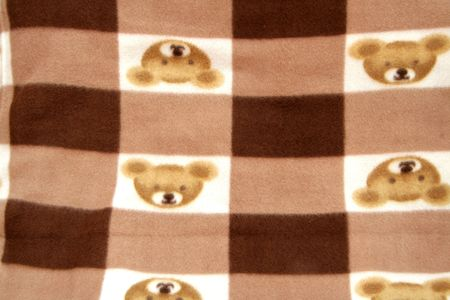 velvety: Velvety texture and printed pattern on woolen fabric Stock Photo