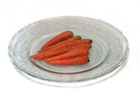 Carottes sont riche source de b�ta-carot�ne et fibreFibre