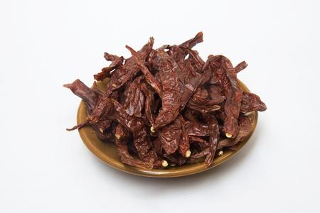 pungent: Caldo, peperoncini piccanti, pungenti, rossi usato per guarnire durante la cottura