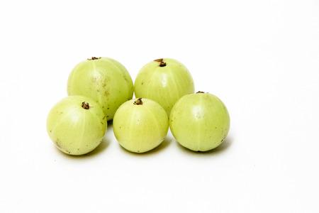 potassium: Gooseberries re good source of vitamin C, potassium and bioflavonoids