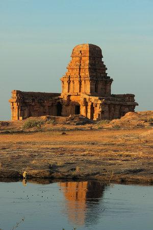 Upper Shivalaya situated on top of northern hill  at Badami in Bagalkot District, Karnataka, India, Asia