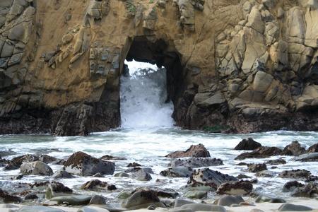 海の岩 写真素材