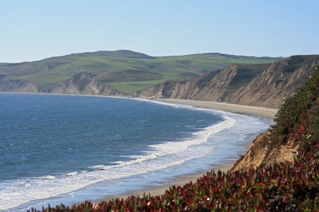 drakes: Point Reyes National Seashore at Drakes Beach Stock Photo
