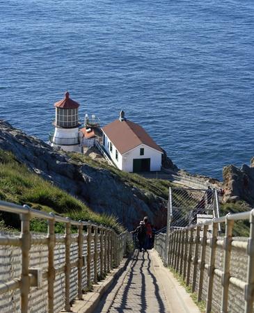 ポイント レイズ灯台に階段