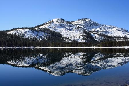 山反射ドナー湖