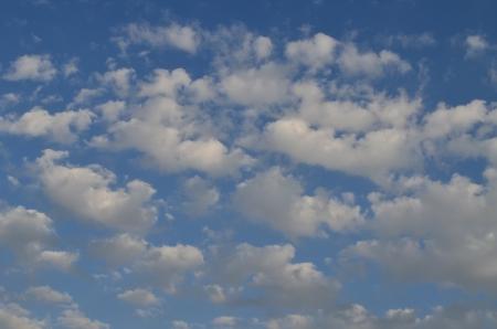 Blue Sky and Clouds Banco de Imagens