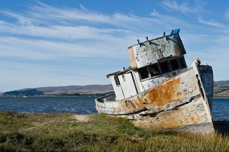 難破したボート