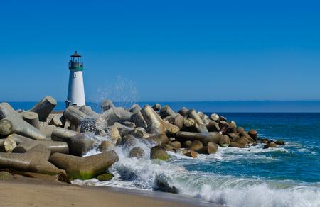 ウォルトン灯台サンタ クルス 写真素材