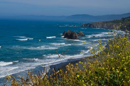 北カリフォルニアの海岸線