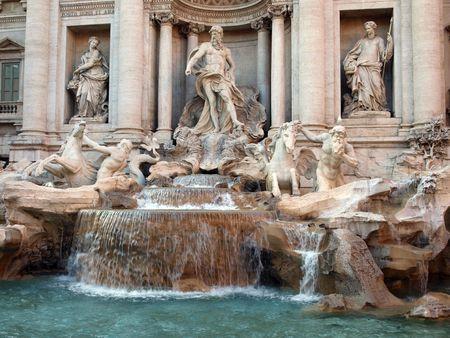 Fontana di Trevi photo