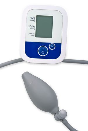 Electronic blood pressure device Stock Photo - 6245593