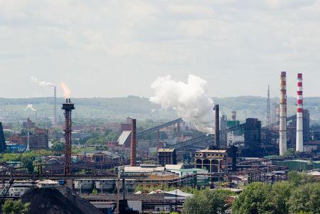 paesaggio industriale: Paesaggio industria  Archivio Fotografico