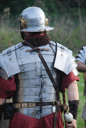 legionary soldier ancient rome Stock Photo