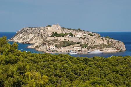 St Nicholas island archipelago on tremors italy