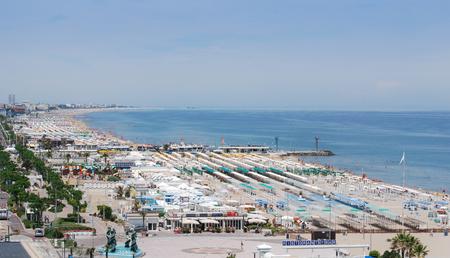 Riccione italy harbor view