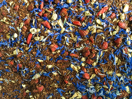 Rooibos Herbal Blend Stockfoto