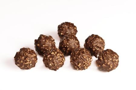 praline: sweet praline chocolates