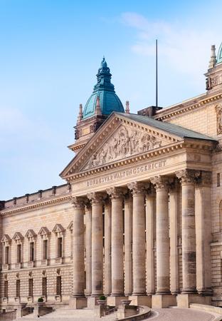 saxony: Leipzig Saxony Federal Administrative Court, Germany Editorial