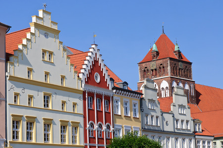 Greifswald, st.nikolai University City, caspar david friedrich, Editorial