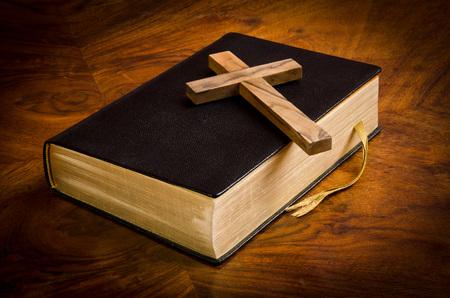 scriptures: Bible, Scriptures of the Christians Stock Photo