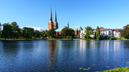 Lübeck Cathedral Church at Mill Pond