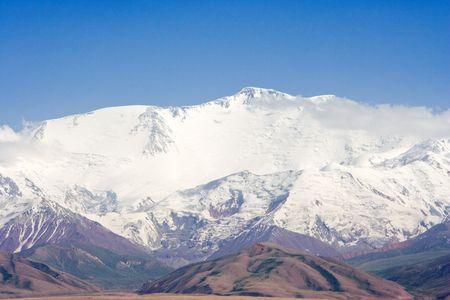 lenin: Pamir mountains - Lenin Peak