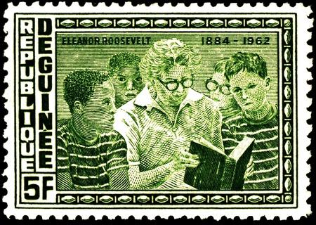 roosevelt: postage stamps - eleanor roosevelt with children