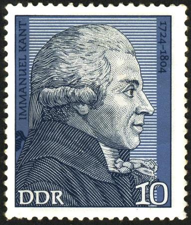 Immanuel Kant. German philosopher, founder of German classical philosophy