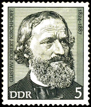 spectroscopy: Gustav Robert Kirchhoff.  German physicist who contributed to the fundamental understanding of electrical circuits, spectroscopy Editorial