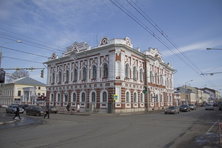 moresque: Russia  Yaroslavl  Manor Poletaeva  Spiritual Consistory  Editorial