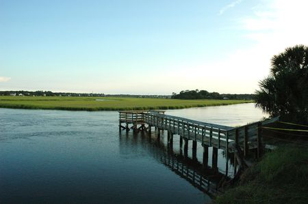 Salt Marsh Stock Photo - 264682