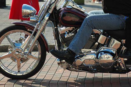 motorcycling: Riding